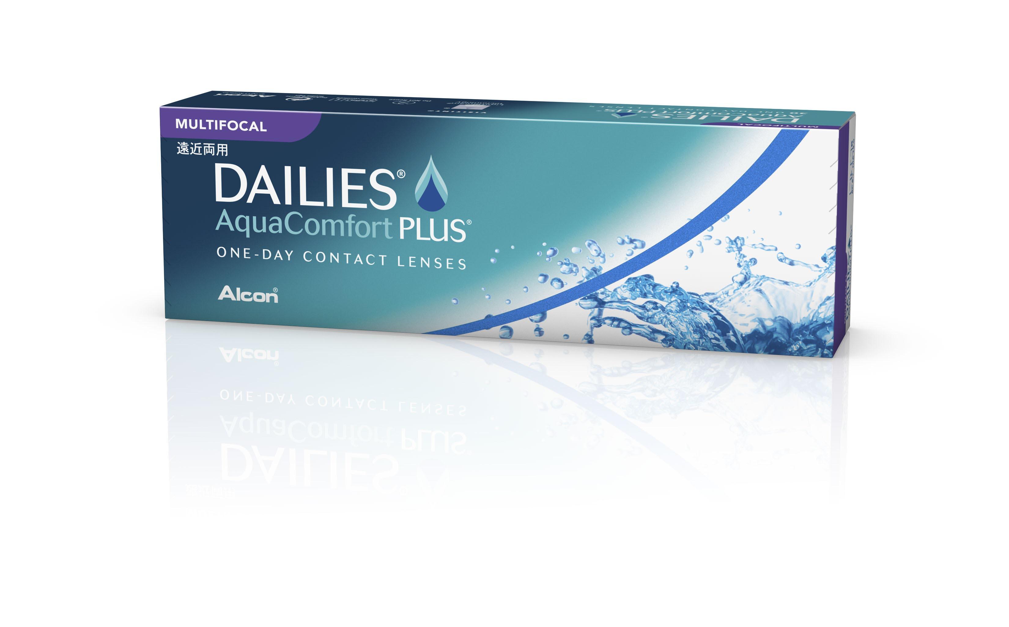 comfort comforter dailies plus aqua lensoptics multifocal lentillas